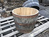 Whisky Oak Barrel Planter