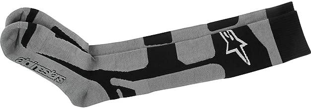 Alpinestars Men's 4702114-107-LXL Sock (Coolmax) (Black/Grey, Large/X-Large)