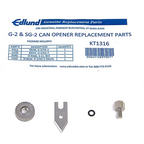 Edlund KT1316 G-2 Can Opener Replacement Parts Kit