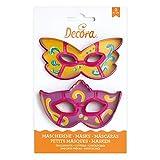 Decora 0255107 Kit 2 Tagliapasta Maschera