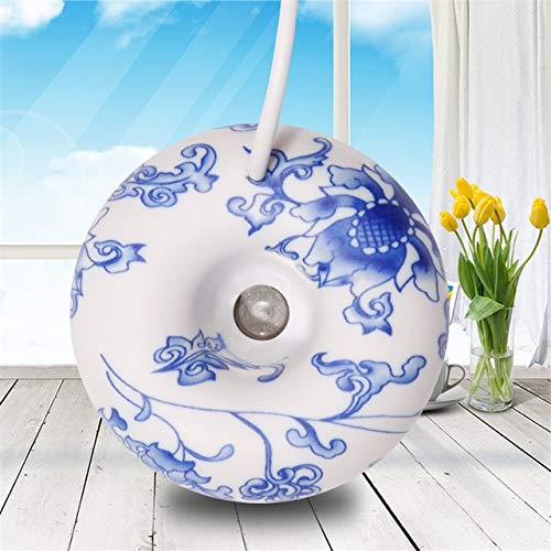 Mini-luchtbevochtiger voor kantoor donut diffuser stoom luchtbevochtiger creatieve reiniging Home Office luchtbevochtiger aroma diffuser luchtbevochtiger Blue And White Porce