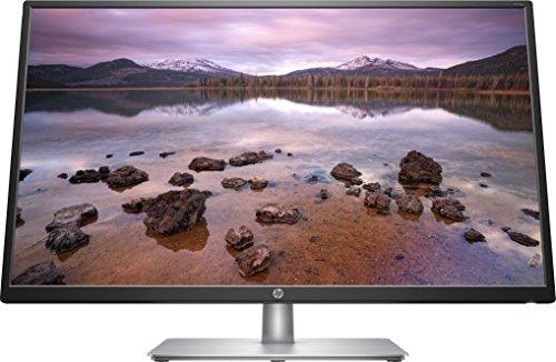 """HP – PC 32s Monitor 31.5"""" FHD 1920 x 1080 a 60 Hz, IPS, Antiriflesso, Tempo risposta 5 ms, Regolazione Inclinazione, Comandi su schermo, Low blue light, Compatibile Montaggio Vesa, VGA, HDMI, Argento"""