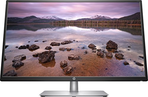 HP 27q (27 inch QHD PLS) monitor (AMD FreeSync, DisplayPort, HDMI, DVI-D, 2560 x 1440, 60Hz, 5ms reactietijd) zilver 32 s full HD IPS/LED 32 inch. zilver/zwart
