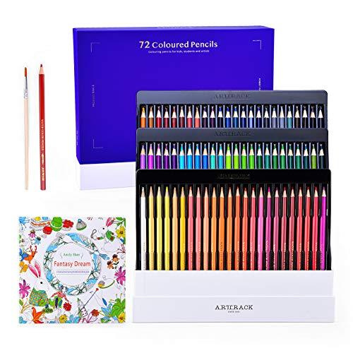 ShinePick 72 Matite Colorate, Matite Acquarellabili Professionali Matite Disegno Multicolore per Colorare, Disegnare, Materiale Scolastico, Ideali per Regali per Adulti e Bambini