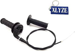 XLYZE Handle Throttle Grips Cable para Baja Warrior MB165 MB2005 505HP 6.5HP 196cc Mini Dirt Bike