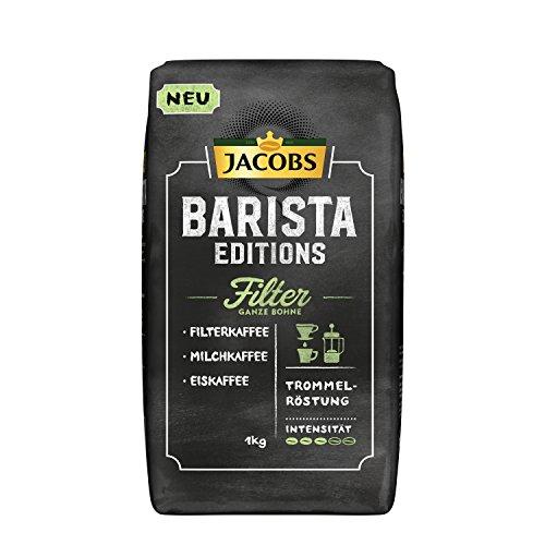 Jacobs Kaffeebohnen Barista Editions Filter, 1 kg Bohnenkaffee
