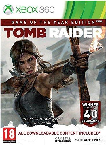 Square Enix Tomb Raider: Game of the Year Básico Xbox 360 vídeo - Juego (Xbox 360, Acción, Modo multijugador, M (Maduro))