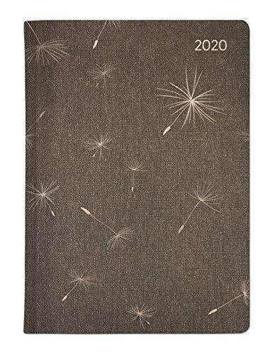 Ladytimer Glamour Blowballs 2020 - Taschenplaner - Taschenkalender A6 - Weekly - 192 Seiten - Metallicprägung Pusteblume