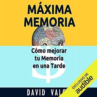 Máxima Memoria [Maximum Memory] audiobook cover art