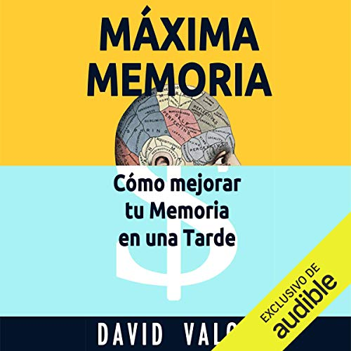 Máxima Memoria [Maximum Memory] audiobook cover art