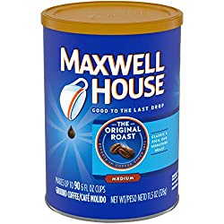 best coffee in the world maxwell house blend