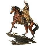Indianer Figur auf Pferd Häuptling Western Krieger Winnetou Wilder Westen