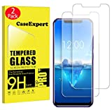CaseExpert 2 Pack - OUKITEL C12 Pro Protector de Pantalla, Ultra Tanque Transparente Cristal 9H Cristal Templado Glass Protector de Pantalla para OUKITEL C12 Pro