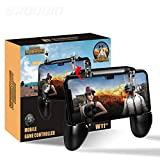 Gamepad Controller Phone 3 In 1 L1R1 Game Shooter Trigger Fire Button For Iphone Android Smartphone Gamepad Joystick W11
