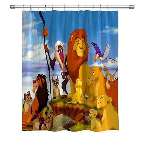 Cartoon Bathroom Shower Curtain The Best Amazon Price In Savemoney Es