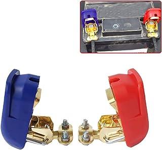 Gazechimp 4er Set 12V 24V Batterieklemmen Batterie Autobatterie Polklemmen PKW KFZ