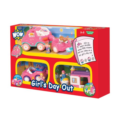 WOW Toys - Girl'S Day out, Coche de Juguete (80021)