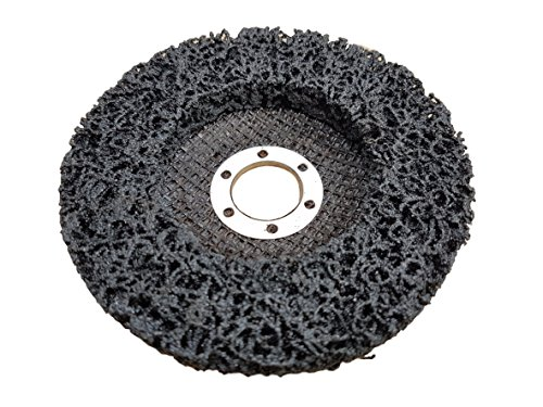 Rostio CSD Scheibe | Reinigungsscheibe schwarz 115 x 13 x 22,2 mm | Flex | Winkelschleifer