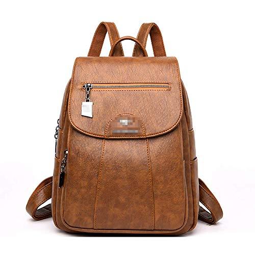 Backpack Women High Capacity PU Shoulder Bags Large Capacity Travel Backpack School Bags
