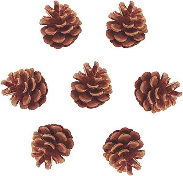 Artificial Pine Pinecone Natural Pine Cone For Craft Assorted Filler Wreath Home Party Garden Wedding Winter Ornament