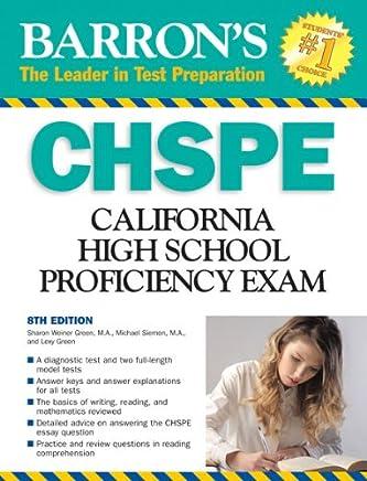 Barrons CHSPE: California High School Proficiency Exam