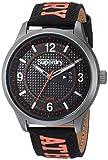 Superdry SYG171BO Montre Bracelet Homme Nylon Noir