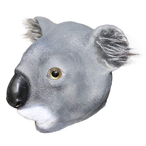 Máscara de Koala, disfraz divertido para eventos y fiestas, animales de la selva, safari divertido, Halloween, fiesta de disfraces