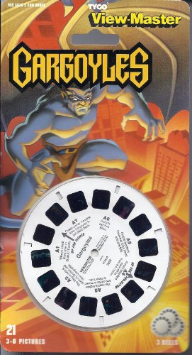 Gargoyles 3D View-Master 3 Reel Set by View Master
