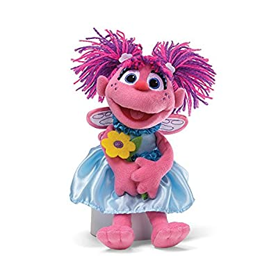 Sesame Street Abby with Flowers Stuffed Animal by Gund