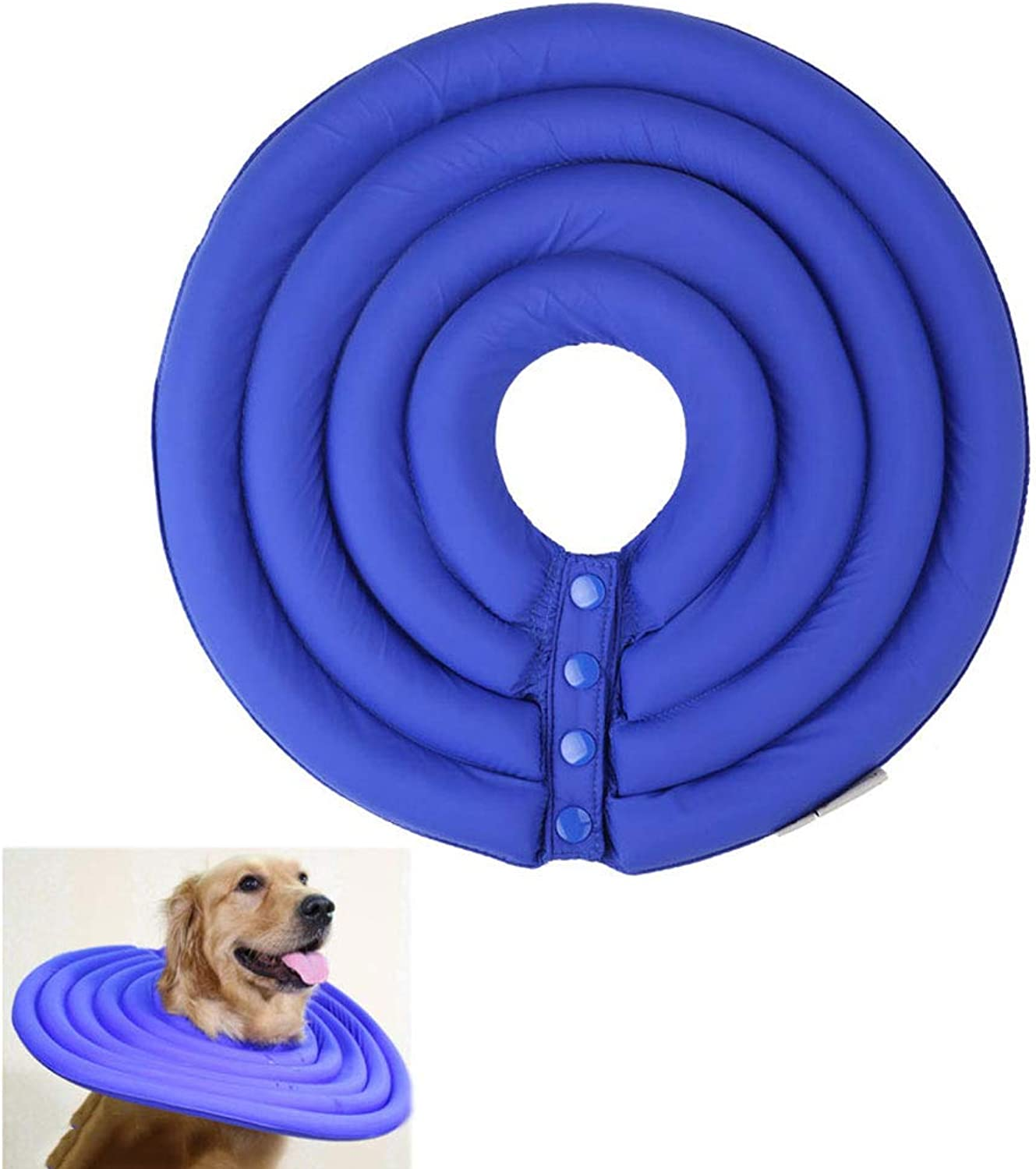 Dog and Cat Predection Inflatable Collar Easy to Eat And Drink Pet Resistant Suitable for Cats Faster Healing 6 Sizes 2 colors