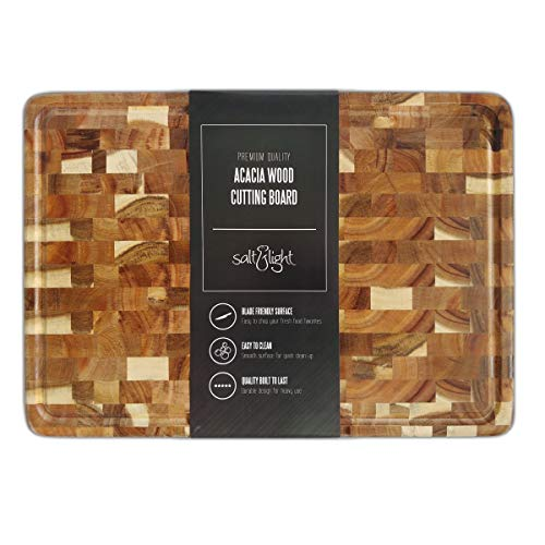 Salt & Light Acacia Wood Cutting Board