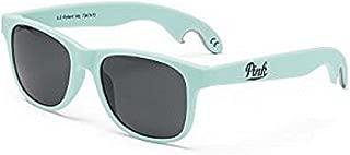 Victoria's Secret Pink Bottle Opener Sunglasses Sheer Seafoam Mint