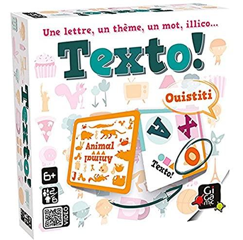 GIGAMIC- Jeu de Cartes-Texto, JFTE