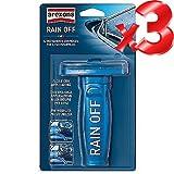 RAIN OFF auto, anti pioggia, spazzole vetri auto.- Offerta Limitata 3 pezzi
