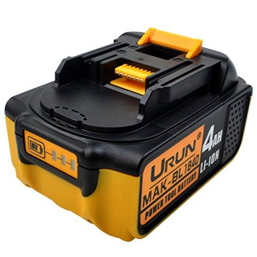 18 V 4,0 Ah BL1840 Li-ion Akku mit LED-Anzeige Ersetzen für Makita 18 V Grasschere DUM168Z Bohrschrauber DDF483Z Baustellenradio DMR110 Rasentrimmer DUR181Z