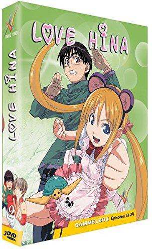 Love Hina DVD-Box Vol. 02 (3 DVDs)