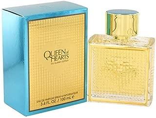 Queen of Hearts by Queen Latifah Eau De Parfum Spray 3.4 oz for Women