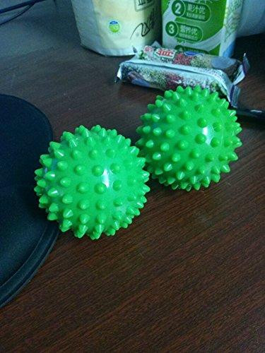 Preisvergleich Produktbild exoh 7 cm Harte Igelball Sensorische Massage Trigger für Fitness