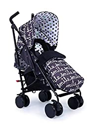 SUPA FEATURES - From one-handed recline to gadget display pocket, there's plenty of features for you to use. With our famous storytelling pattern to spark their creativity, kids love sitting in this stroller. FROM BIRTH TO 25KG - The Supa is a compac...