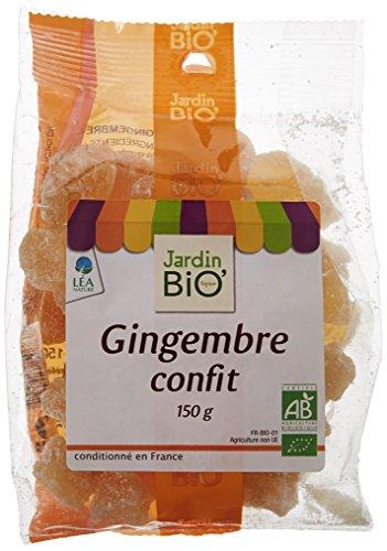 Jardin Bio Gingembre Confit 150 g - Lot de 3