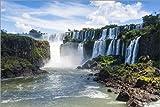 Poster 91 x 61 cm: Iguazu-Wasserfälle von Michael