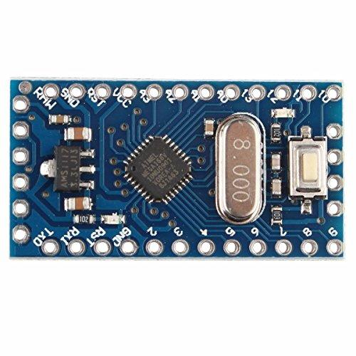 Pro Mini Atmega168 Modul 3,3-8 MHz 6-PWM-Ports Modul für Arduino Nano kompatibel