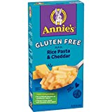Annie's Gluten Free Macaroni and Cheese, Rice Pasta and Cheddar, 6 oz (Pack of 12)