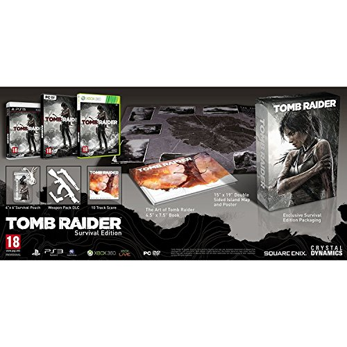 Tomb Raider Exklusive Survival Edition