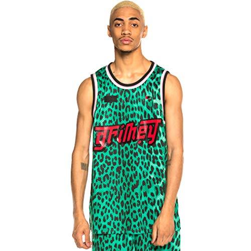 GRIMEY Camiseta Tirantes Yanga Mesh tee SS20 Green-L