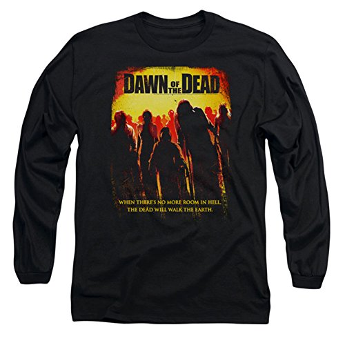Dawn Of The Dead - Titre shirt manches longues Men In Black -, Large, Black