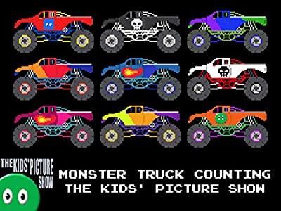Monster Truck Counting - The Kids' Picture Show