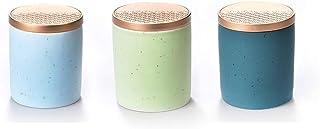 LXTIN Mini boîtes de Sucre de café de thé, Ensemble de 3 contenants de Rangement décoratifs, organisateurs de Cuisine de r...