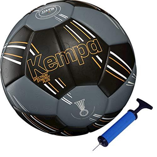 Kempa handball Spectrum Top Training & Spielball schwarz + Ballpumpe (1)