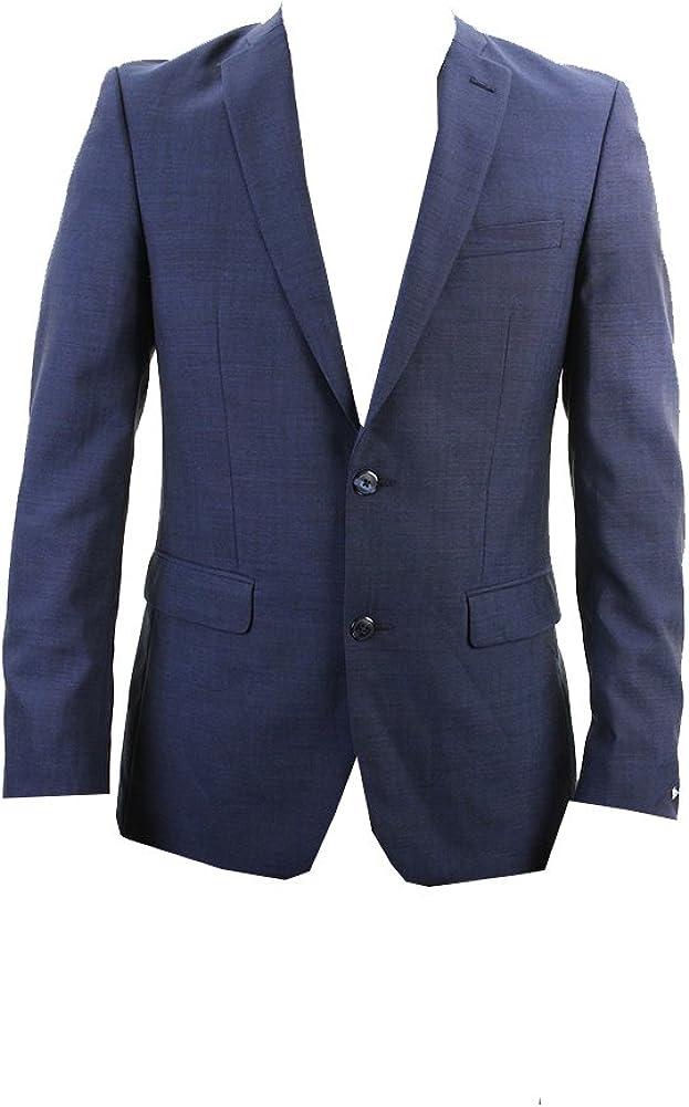 Bar III Mens Short Slim Two Button Wool Blazer Jacket
